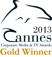 Cannes Corporate Media and TV Award Gold